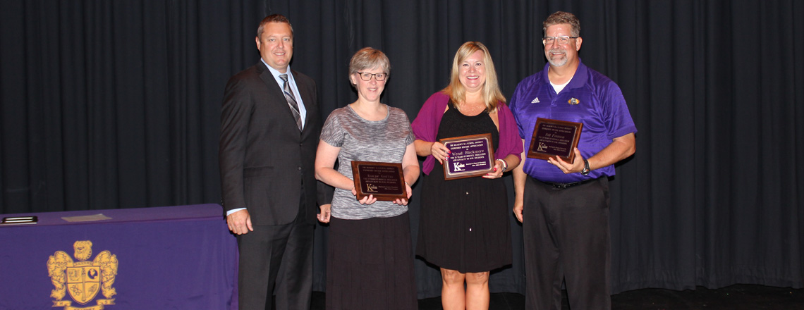KSD Staff Members Honored for Years of Service