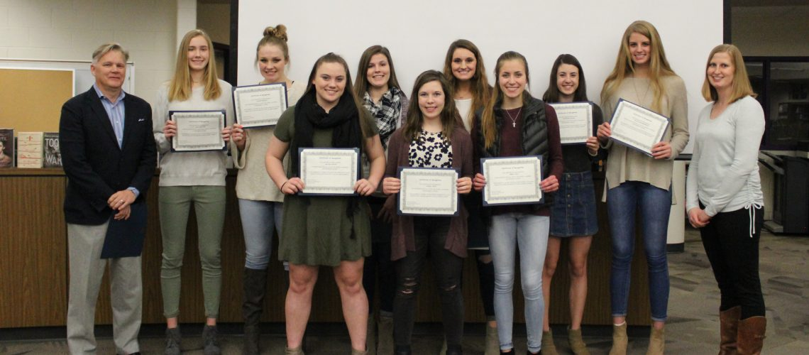 Academic All-State Volleyball Athletes