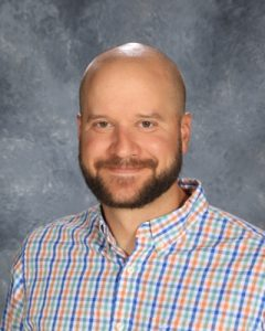 Dan Miller, new assistant principal for KHS