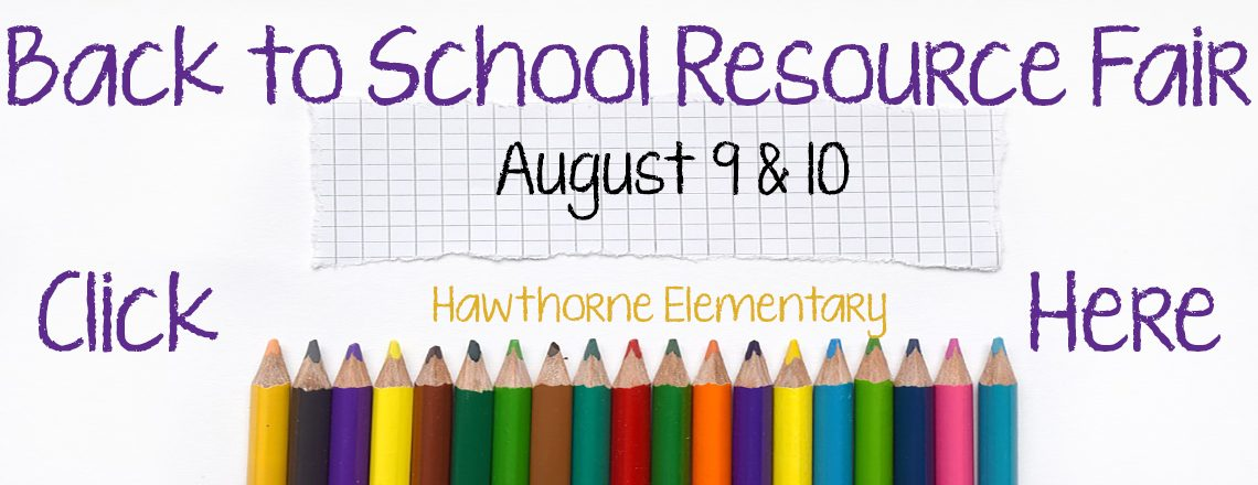 Back to School Resource Fair
