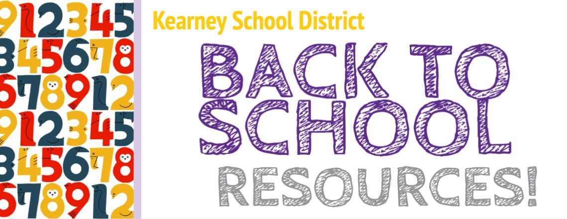 Back to School Resources slider